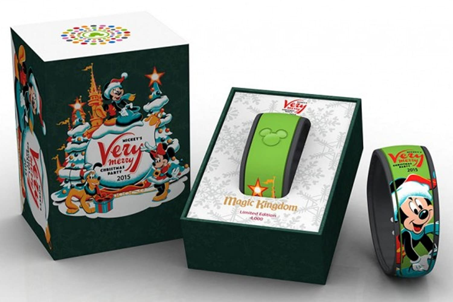 amazoncom disney world 2015 mickeys very merry christmas party limited edition 4000 magicband link it later magic band mvmcp jewelry - Disney Christmas Party 2015