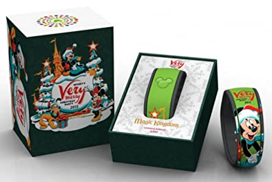 disney world 2015 mickeys very merry christmas party limited edition 4000 magicband link it later magic