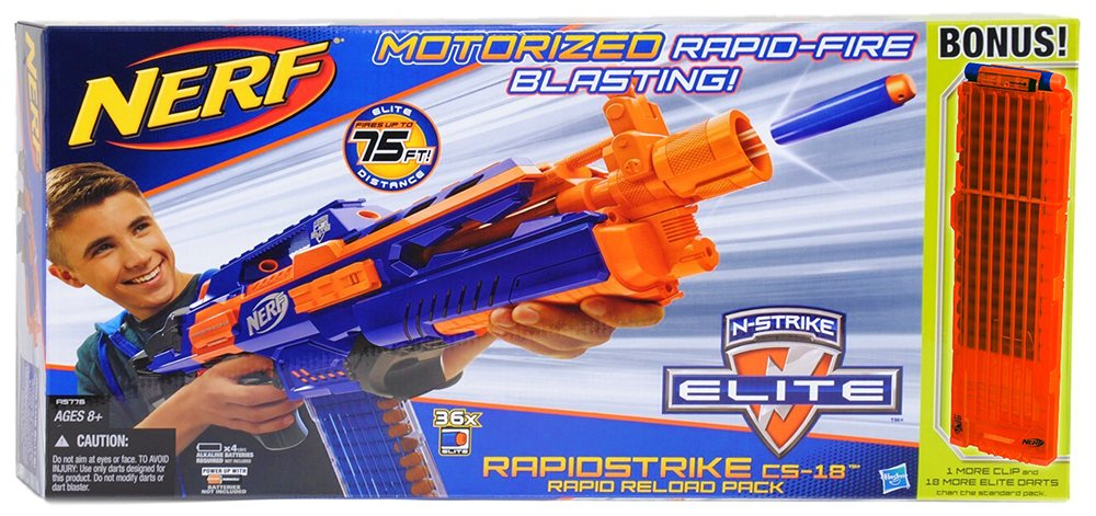 Nerf N-Strike Elite Rapidstrike Bundle