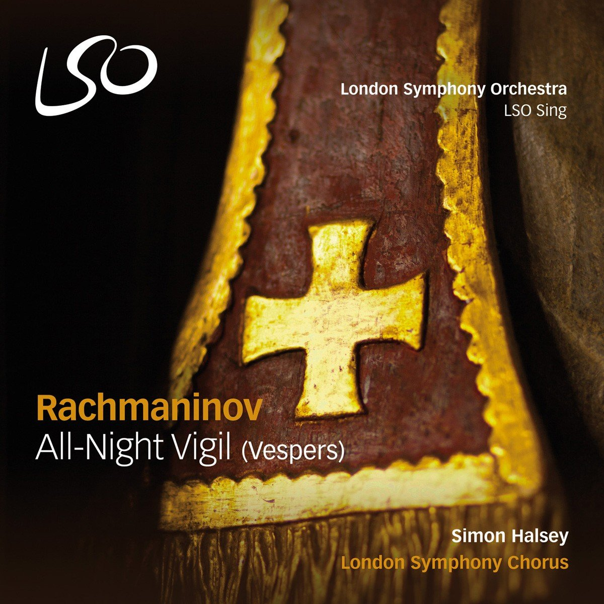 RACHMANINOV,S. / LONDON SYMPHONY CHORUS / HALSEY
