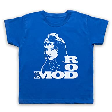 Inspiriert durch Rod Stewart Rod The Mod Unofficial Kinder T-Shirt:  Amazon.de: Bekleidung