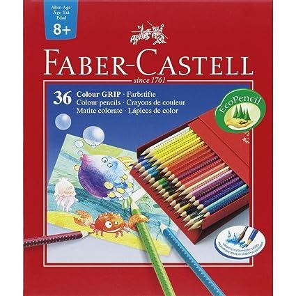 Faber castell - estuche 36 lapices color grip