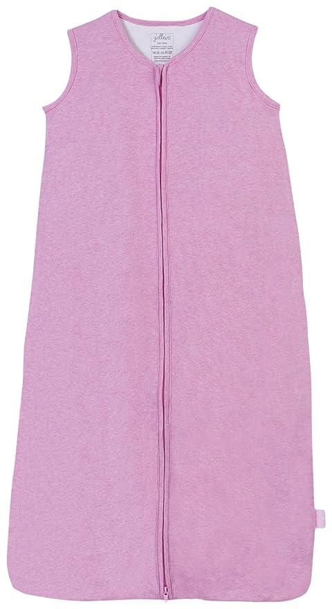 Jollein 048 – 510 – 00043 Saco de dormir Verano 70 cm, jersey Rose claro
