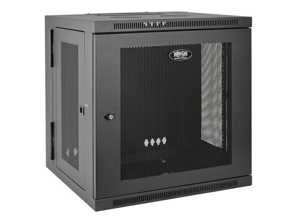 Tripp Lite 12U Wall Mount Rack Enclosure Server Cabinet, Hinged Back, 24.5 in. Deep, UPS-Depth (SRW12USDP)
