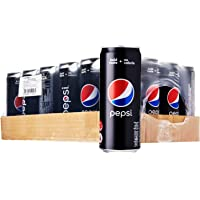 Pepsi Black Soft Drink, 320ml (Pack of 24)