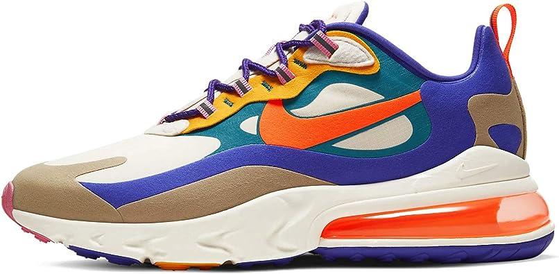 Amazon.com | Nike Air Max 270 React Mens Cu3014-181 ...
