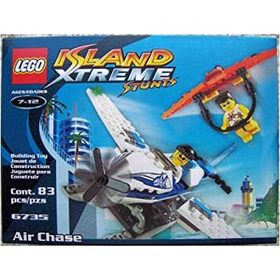 LEGO Island Xtreme Stunts 6735 Air Chase: Toys & Games
