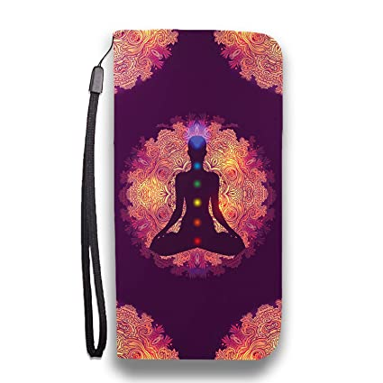 Amazon.com: Yoga Wallet Phone Flip Case - Vegan Friendly ...