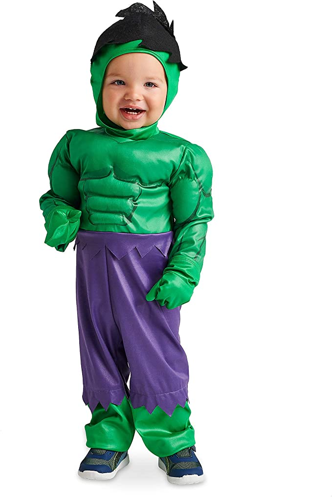 Amazon.com: Marvel Hulk - Disfraz para bebé, color verde ...