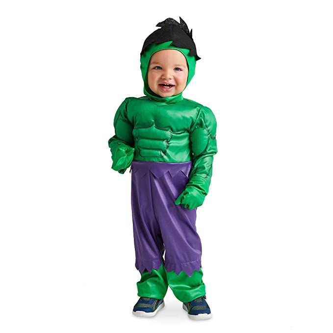 Amazon.com: Marvel Hulk - Disfraz para bebé, color verde ...