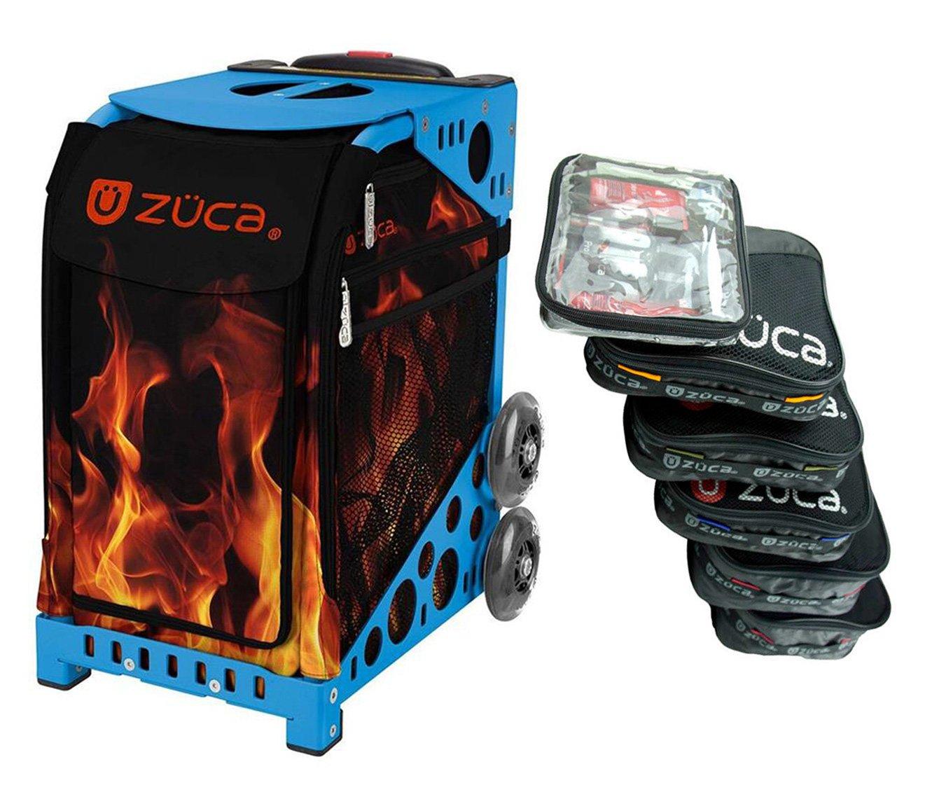 Zuca Blaze スポーツインサートバッグ アクセサリー付き (ブルーフレーム)
