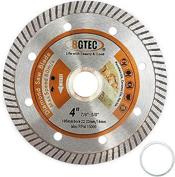 105mm Grinder Granite Ceramic Diamond Blade Thin Porcelain Tile Disc Turbo.