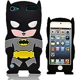 Oneshow Justice League Coque de protection en silicone et en relief Batman compatible avec Apple Ipod Touch 5 / 5G