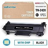 MyCartridge Compatible con Brother TN-2420 TN2420 Tóner negro (con chip) para Brother HL-L2310D L2350DW L2370DN L2375DW MFC-L2710DW L2730DW L2750DW DCP-L2510D L2530DW L2537DW L2550DN