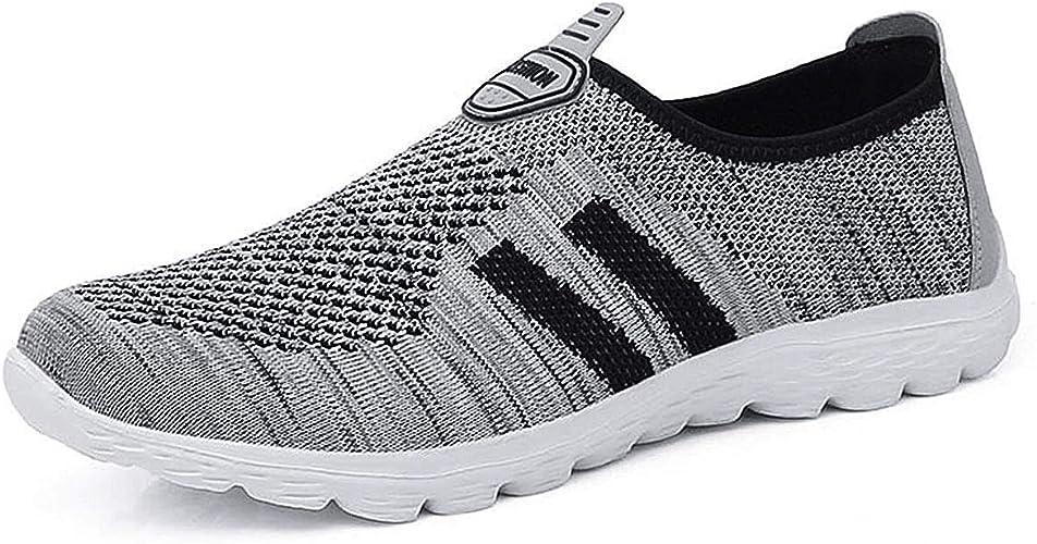 JIANKE - Zapatillas de Running para Hombre, Color Gris, Talla 40 EU: Amazon.es: Zapatos y complementos