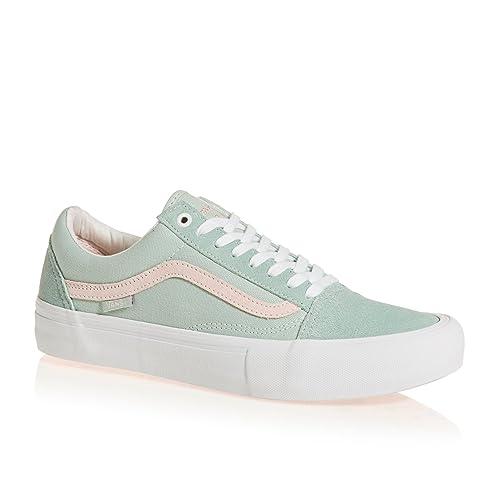 0c55ff5215 Vans Old Skool Pro Sneakers (Danlu Harbor Gray Pearl) Skate Suede Vulc Shoes   Amazon.ca  Shoes   Handbags