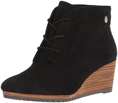 ee36783c5501 Dr. Scholl s Shoes Women s Conquer Ankle Boot Black Microfiber ...