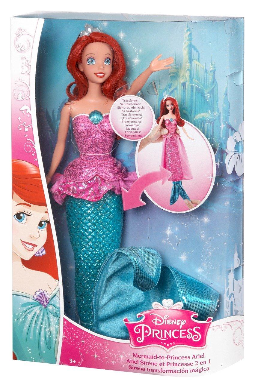 Disney princess mermaid to princess ariel doll amazon toys disney princess mermaid to princess ariel doll amazon toys games altavistaventures Image collections