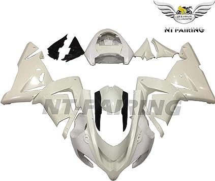 ABS Unpainted Bodywork Fairings Kits For Kawasaki Ninja ZX10R 2004 2005 04 05