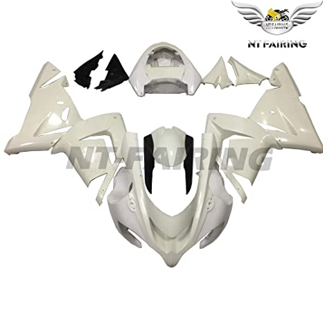 NT FAIRING Fit for Kawasaki Ninja 2004 2005 ZX10R Injection Mold Fairing Kit Unpainted Bodywork Plastic Bodyframe 04 05