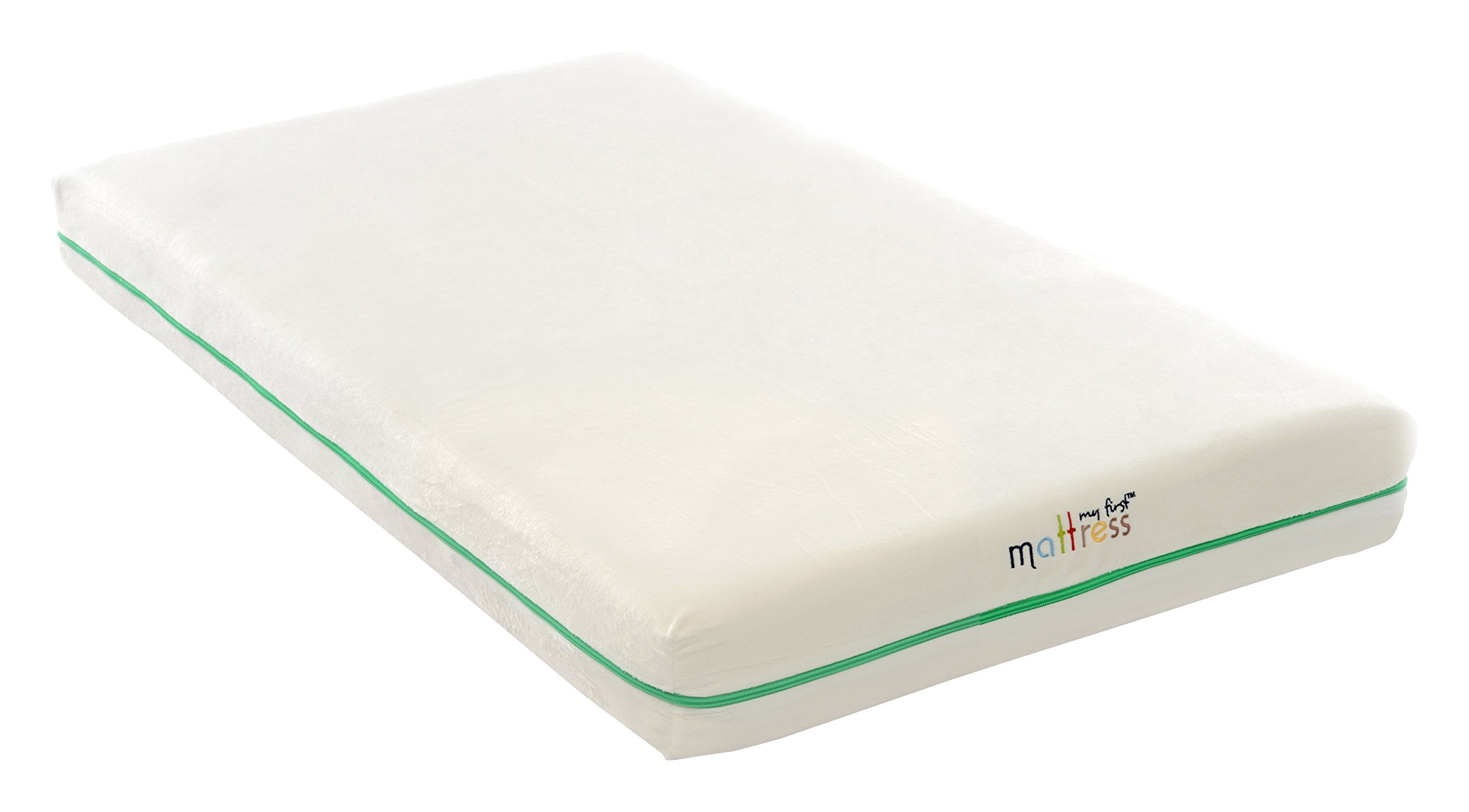 My First Crib Mattress and Toddler Bed Mattress Premium Memory Foam Crib and Toddler Bed Mattress Combination