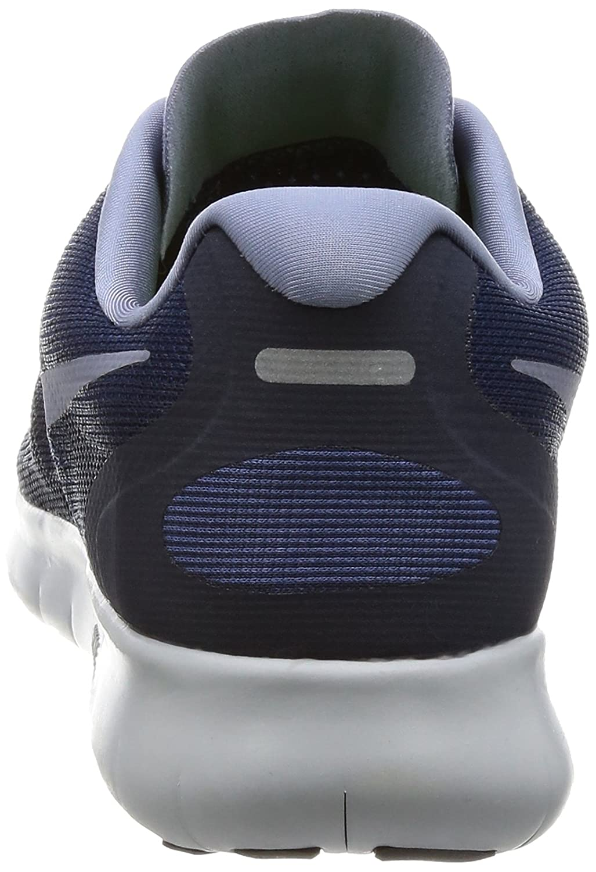 NIKE Women's Free RN 2017 Running Shoe B00LJ1T39I 5.5 B(M) US|Binary Blue/Dark Sky Blue-obsidian
