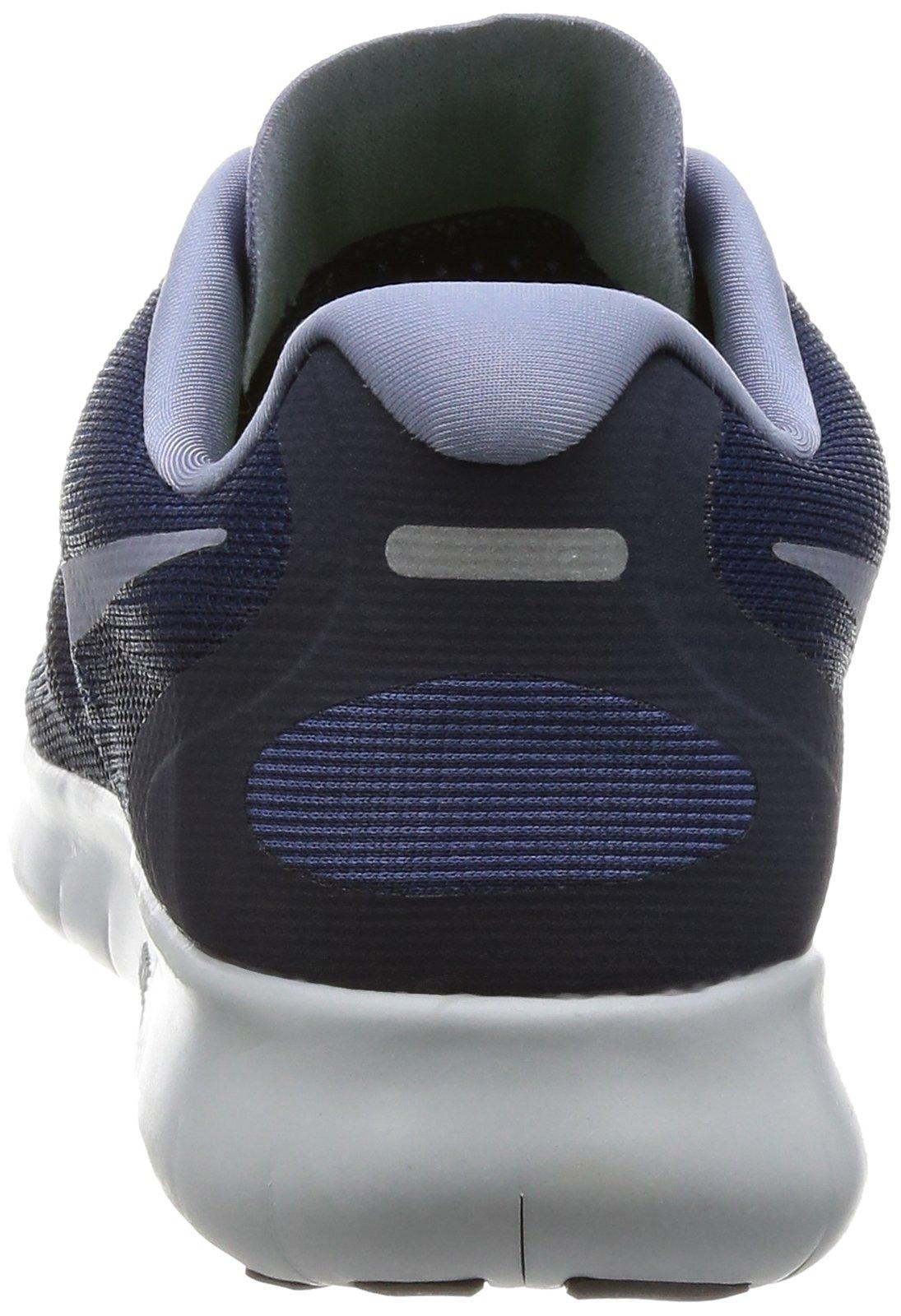Nike Free RN 2017 Women's Running Shoes (6 M US, Binary Blue/Dark Sky Blue) by Nike (Image #2)