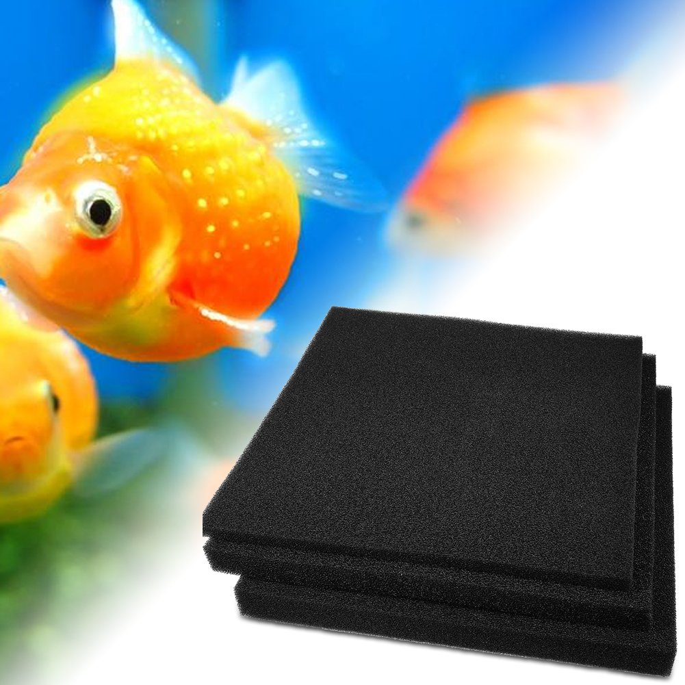 Filtro de Esponja Múltiples Capas Filtros de Acuario Tanque de Pescados Filtro de Almohadilla de Esponja Bioquímico de Algodón(50 * 50 * 4cm): Amazon.es: ...