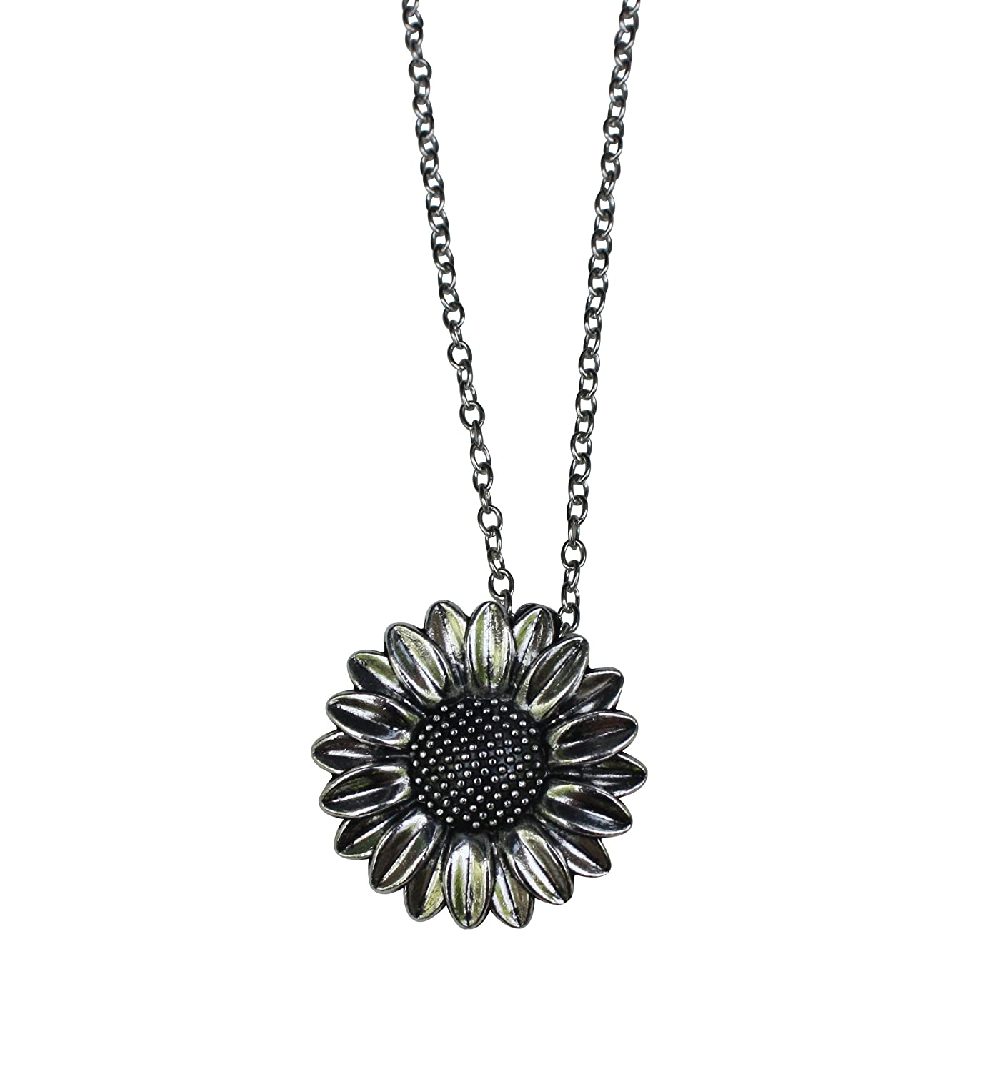 Katara Decor - Daisy Sunflower Necklace Spring Flower Nature A-11
