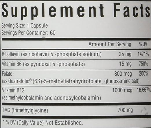 Amazon.com: homocystex Plus | proporciona Vitaminas B2, B6 ...