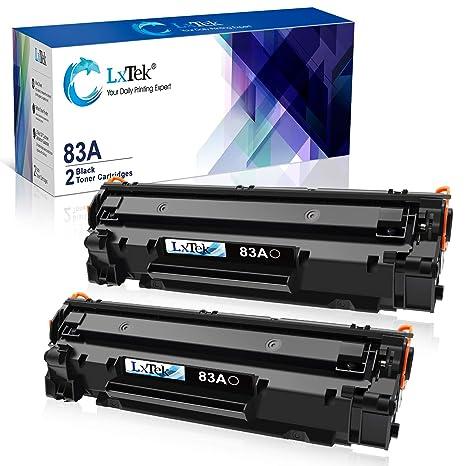 Amazon.com: LxTek - Cartucho de tóner compatible con HP 83A ...