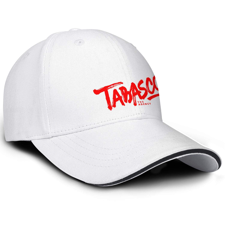 HIRGOEE Mens Womens Tabasco-Sauce Cap Casual Hat Hiking Caps