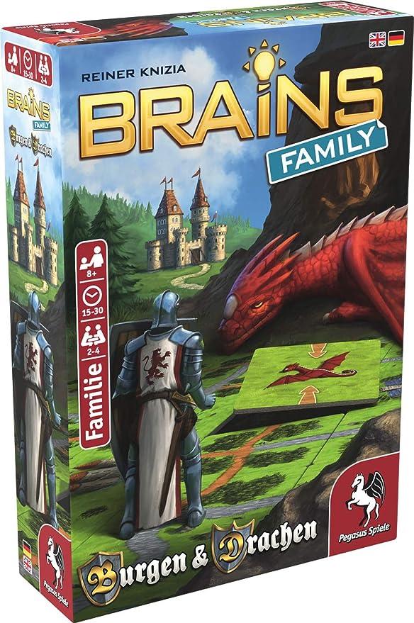 Pegasus Spiele 51811G Brains Family - Juego de Mesa (Contenido en alemán): Amazon.es: Juguetes y juegos