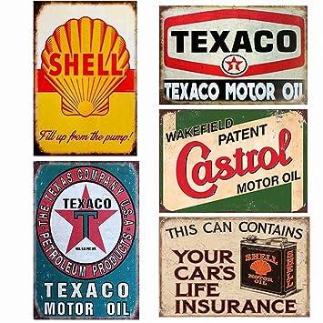 Easy Painter - Juego de 4 Carteles de Lata Vintage para ...