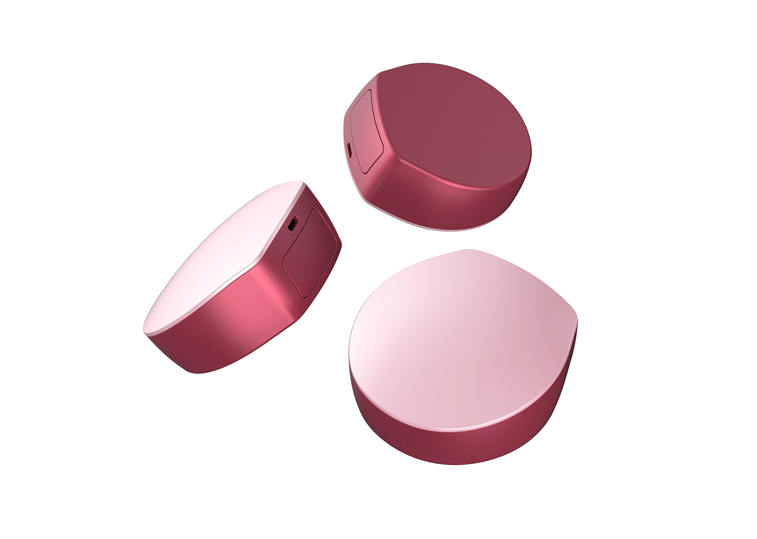 Quantum Egg Q Egg Contact Lens Disinfection Storage Case One Touch UV-C Light Triple Protection Against Eye Infections (Pink)