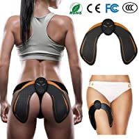 YUCHEEN EMS Intelligent Buttock Trainer, Electric Hips Trainer Muscle Stimulator Buttocks Lift Enhancer Pad, Lifting/Shaping/Firm/Beautify The Hip Body Workout Fitness Weightloss Massager Machine