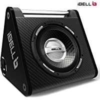"iBELL IBL XB250WB 10"" Car Enclosure 200 Watts Vengeance Structure Design"
