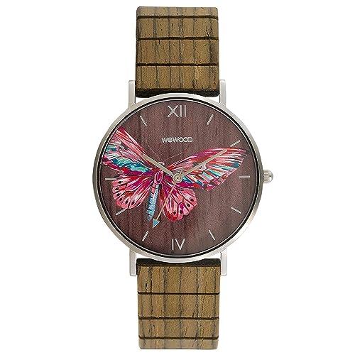 WeWood Reloj Mujer Aurora Tropical Nut