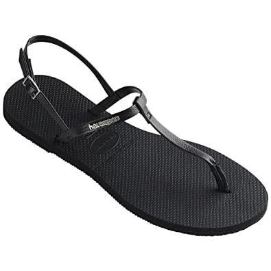 264cffbaa004 Havaianas Women s You Riviera Sandals Black 35-36 M Bra