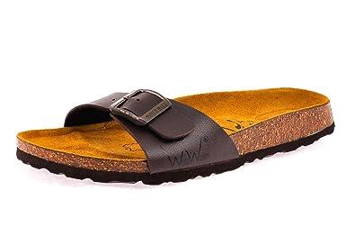 0f0a12fec10a World Walker By Birkenstock Lucy Brown Sandals