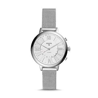 Fossil Q pour Femme Jacqueline en Acier Inoxydable Hybride Smartwatch Ftw5019