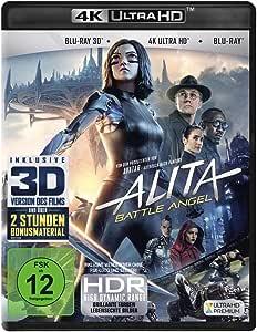 Alita - Battle Angel (4K Ultra HD) (+ Blu-ray 3D) (+ Blu-ray 2D)