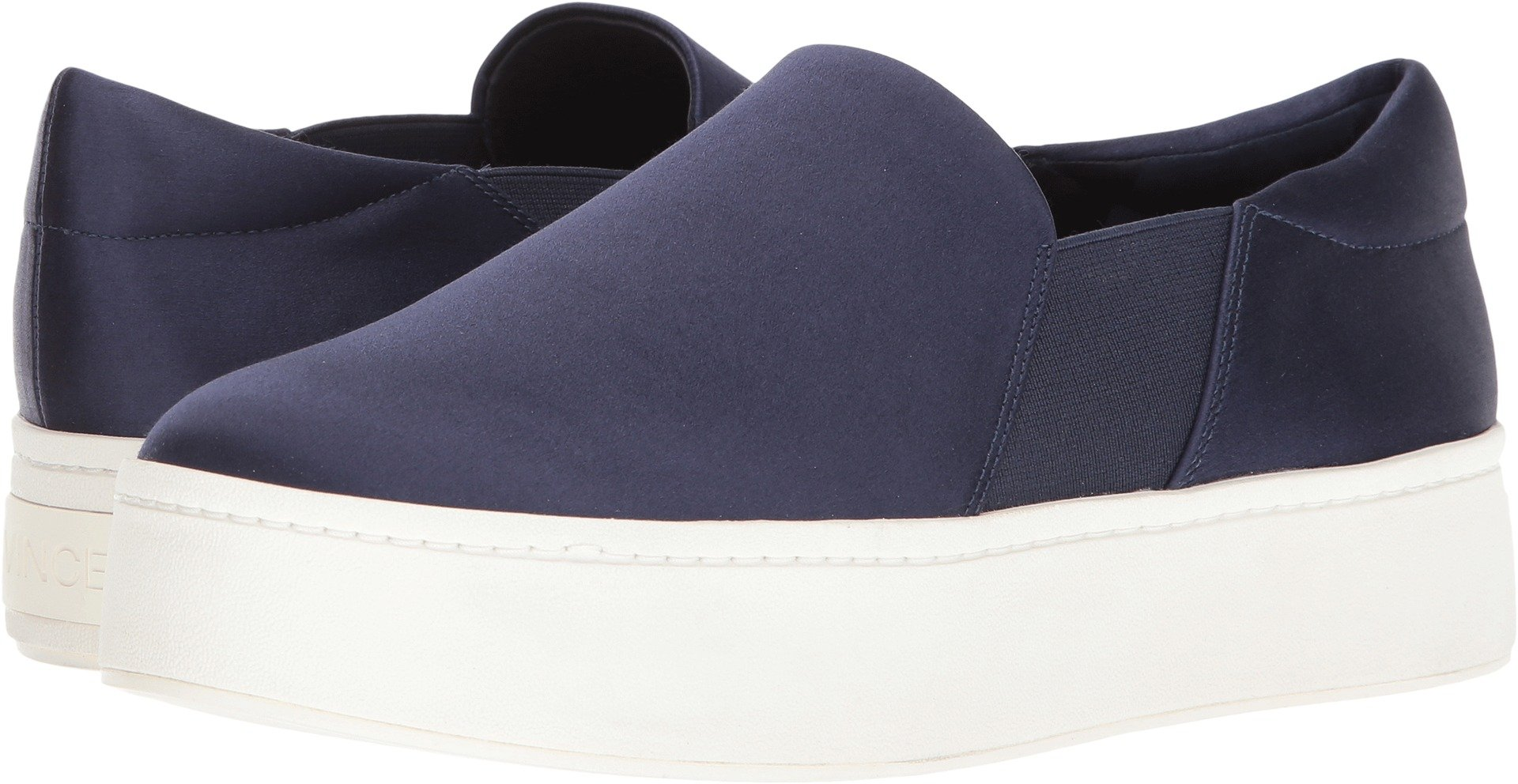 Vince Women's Warren Platform Sneakers, Navy, 7.5 B(M) US by Vince