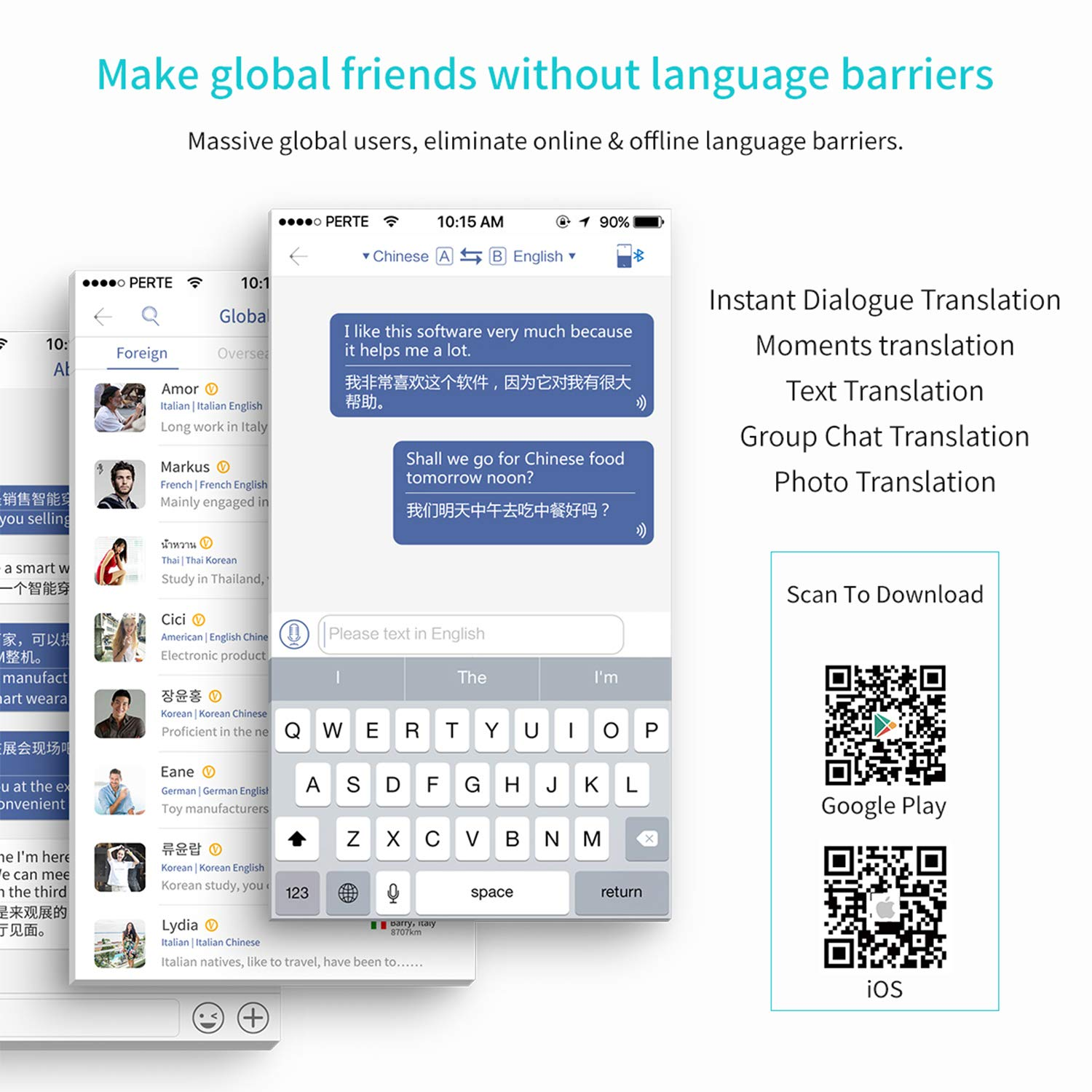 Real Time Instant Two-Way Translation Use with APP for Learning ...