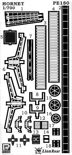 ピットロード 1/700 米国海軍 航空母艦 CV-8 ホーネット エッチングパーツ付 W169
