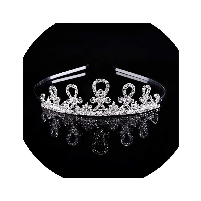 Baroque Luxury Crystal Bridal Crown Tiaras Light Gold Diadem Tiaras for Women Bride Wedding Hair Accessories