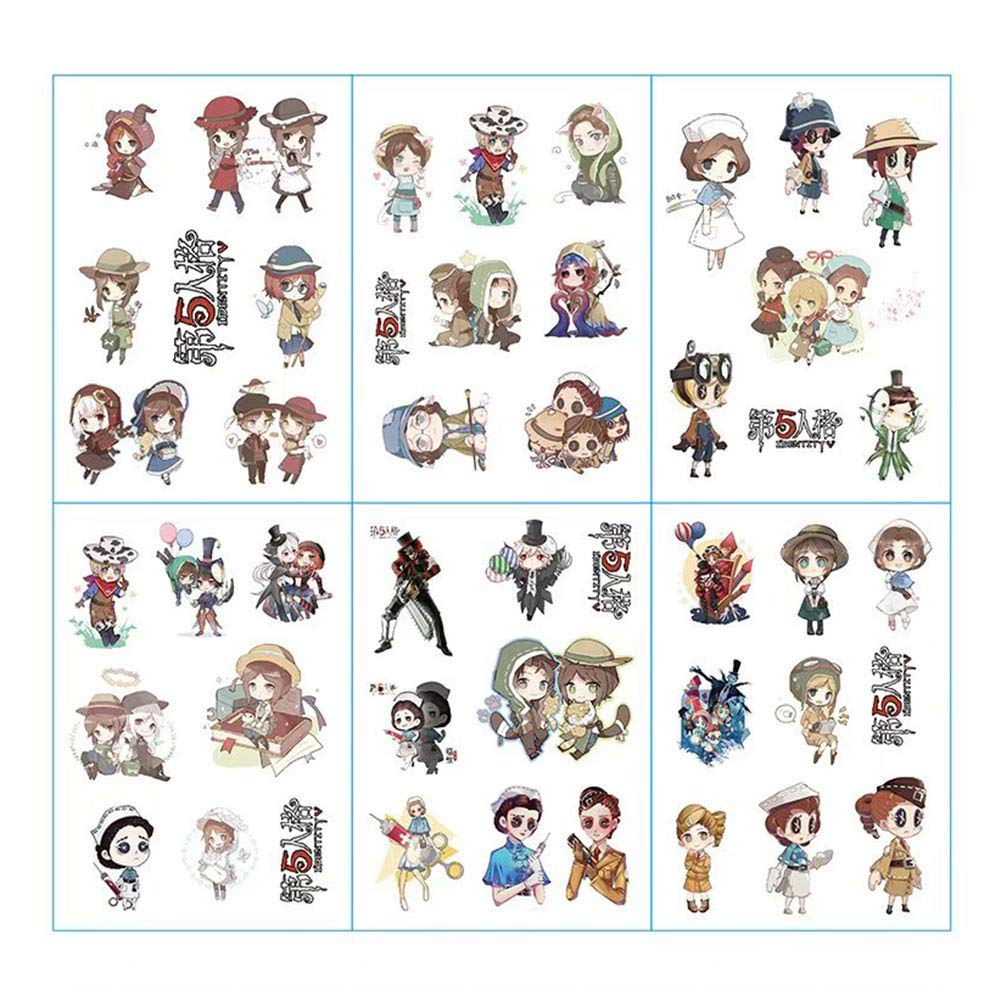 Heyu-Lotus Anime Cartoon Bumper Patches Decals Car Stickers Motorcycle Bicycle Skateboard Luggage Phone Pad Laptop Stickers