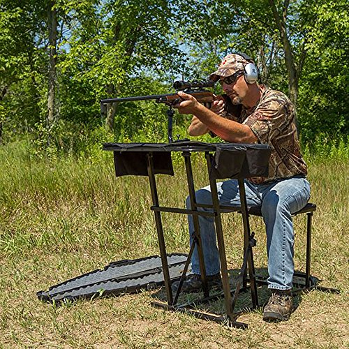 Admirable Youzee Shooting Hunting Table Bench Rest Range Portable Pdpeps Interior Chair Design Pdpepsorg