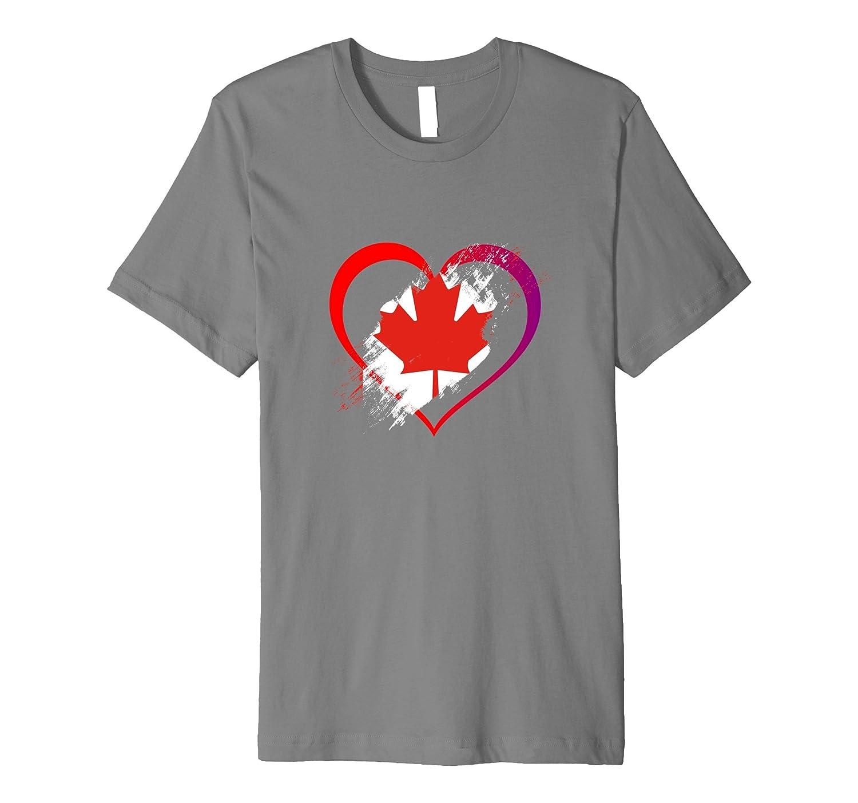 Canada 150 Love Heart Shirt-CD