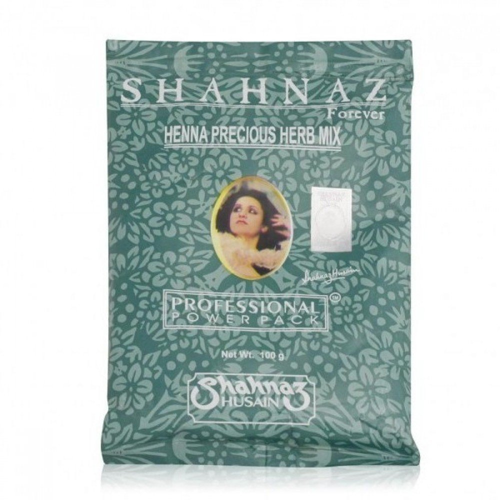 Shahnaz Husain Henna Precious Herb Mix, 100G (Pack Of 3)